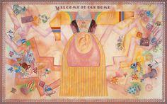 Miriam Schapiro, Welcome to Our Home, 1983