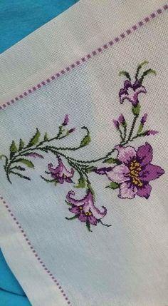 Cross Stitch Cards, Cross Stitch Borders, Cross Stitch Designs, Cross Stitching, Cross Stitch Embroidery, Cross Stitch Patterns, Baby Dress Pattern Free, Beaded Angels, Hand Embroidery Flowers