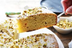 Almond Cake With Cardamom and Pistachio | Recipe | Almond Cakes ...