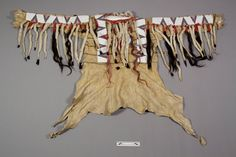 Collections Search Center, Smithsonian Institution. Piegan shirt, 1903. Native American Clothing, Native American Photos, Native American Beadwork, American Indian Art, Native American Indians, Male Clothing, American War, Native Americans, Blackfoot Indian