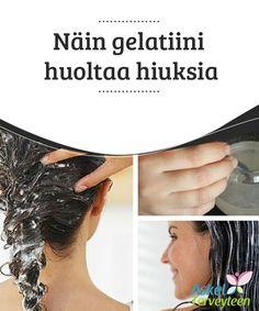 Näin gelatiini huoltaa hiuksia  Tässä artikkelissa jaamme kanssasi yhden #parhaimmista #hoitokeinoista hiuksille, jotka #kaipaavat sileyttä, tuuheutta ja kiiltoa.  #Kauneus