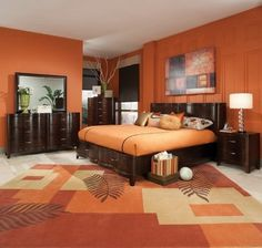 Orange Schlafzimmer Deko Ideen #Badezimmer #Büromöbel #Couchtisch #Deko  Ideen #Gartenmöbel #