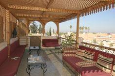 Salon en terrasse - Ryad Zouina - Marrakech