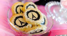 Cookies com decalque e glacê