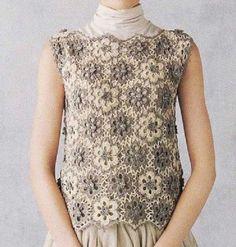 193 Besten Häkeln Tops Blusen Etc Bilder Auf Pinterest Crochet