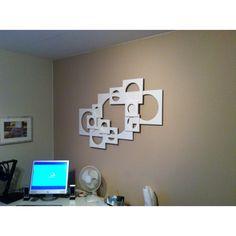 3D wall sculpture decoration