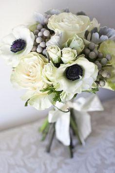 @Lauren Dellenback...wedding bouquet?  I LOVE the gray (it's dusty miller). katemkaiser