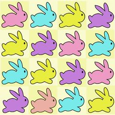 Free digital baby bunny scrapbooking paper - ausdruckbares Geschenkpapier - freebie   MeinLilaPark – DIY printables and downloads