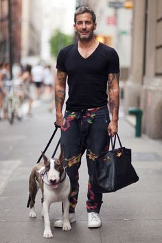 Marc Jacobs and his pal Neville