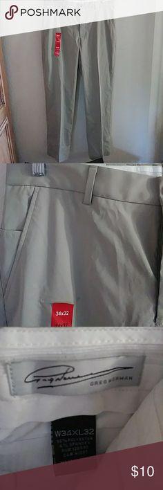 Greg Norman golf pants. New. It is a flat front pants. greg norman Pants