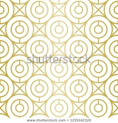 Luxury Geometric Pattern Seamless Vector Lines Stock Vector (Royalty Free) 1255142320 Golden Pattern, Geometric Lines, Background Patterns, Royalty Free Stock Photos, Graphic Design, Luxury, Illustration, Image, Illustrations