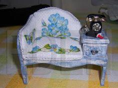 Aqui os pongo el sillon de mi amiga Eden, a que es precioso??. Me ha dado permiso para poner los planos, que Plata ha pasado a limpio... Ede...