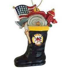 64 best Firefighter Ornaments images on Pinterest | Firemen ...