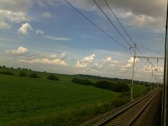 Train journey.