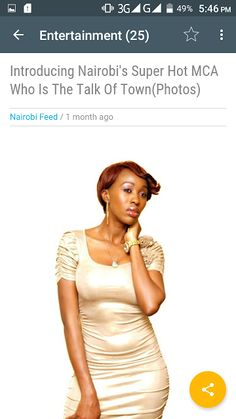 Check out Nairobi Feed's Android App on Google Play