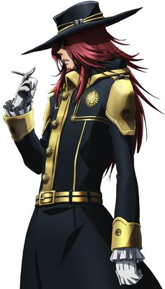 D. Gray Man ~~ General Cross Marian ::: He's a womanizer, a drunkard, a debtor, a bad teacher, and he's 100% AWESOME!