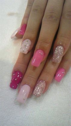 Pink ombre, these are cute but shorter, maybe another color too