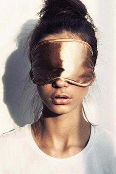 Eye mask for sleeping in darkness...
