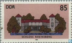 1986 GDR - Castles