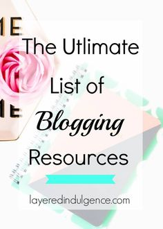 This is the most epic list of blog resources, from website hosting to email marketing to stock photos and social media schedulers! Plus, some of the courses I've taken to sky-rocket my blog traffic! Click to check out the list or save this pin for later!