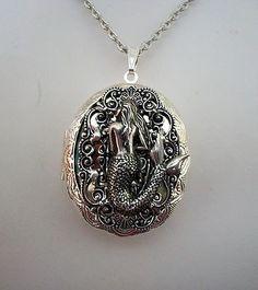 mermaid locket