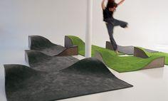 Furniture + carpet. Exhibitor at ICFF