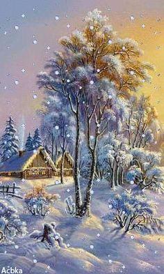 christmas phone wallpaper A country Christmas. Country Christmas, Christmas Art, Vintage Christmas, Xmas, Winter Christmas Scenes, Holiday Gif, Outdoor Christmas, Christmas Christmas, Holiday Cards