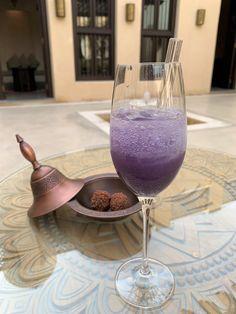 Sparkling violet welcome drink at Al Bait Sharjah, Welcome Drink, Bait, Design Elements, Alcoholic Drinks, Arabic Design, United Arab Emirates, Elements Of Design, Liquor Drinks