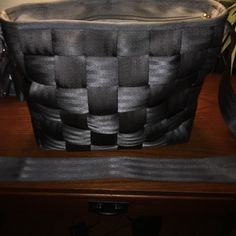 Harvey's seatbelt bag. 100% seatbelt. Outside is in perfect condition. Some stains in the inside as seen in second picture. Bags Crossbody Bags