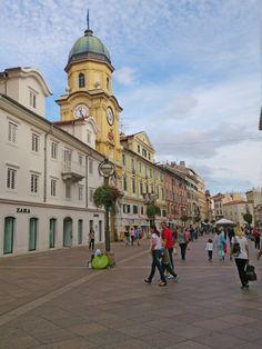 Rijeka Korzo Croatia Photo: Veronika Stehr #croatia #hrvatska