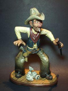 """""""Cowboy Bank Robber"""" by Mark Sheridan."""