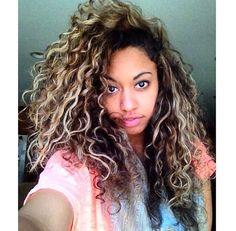 Super Brown Hair With Blonde Medium Brown Hair And Brown On Pinterest Short Hairstyles For Black Women Fulllsitofus