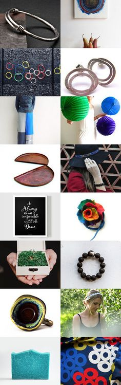 ONE FOR ALL by Paula and Mariana G on Etsy--Pinned+with+TreasuryPin.com