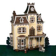 Greenleaf-Beacon-Hill-Dollhouse-Kit-1-Inch-Scale-White