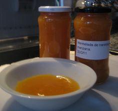 Cocinando para mis peques: Mermelada de naranja-pera y manzana. Microondas