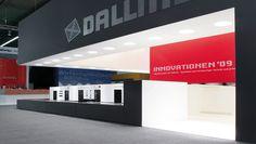 Dallmer fair stand at ISH by Keggenhoff & Partner, Frankfurt
