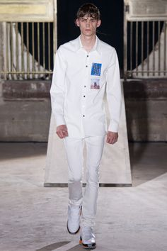 Raf Simons Spring 2015 Menswear Collection Slideshow on Style.com