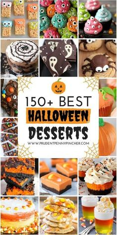 Need inspiration for Halloween desserts? Don't worry, whether you're a beginner or an expert baker, we have you covered from spooky cakes and cookies to festive Halloween treats. Here are some of our favorite spooky and cute Halloween cupcakes! Halloween Cupcakes, Hallowen Food, Halloween Treats For Kids, Halloween Sweets, Halloween Party Snacks, Halloween Appetizers, Halloween Goodies, Halloween Finger Foods, Easy Halloween Cakes