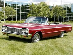 1964 Chevy Impala.  Thid was my very first car but not a convertible