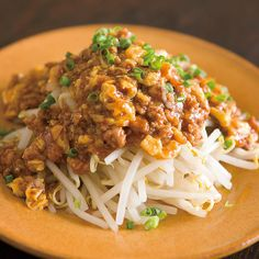 Mapo Bean Sprouts (Bean Sprouts with Minced Pork Chili Sauce) マーボーもやし