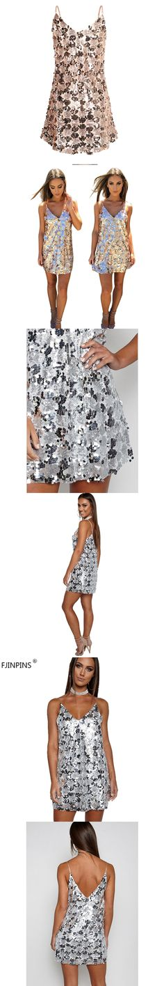 Women Summer Dresses Backless Vestidos Sexy Slip Short Mini Dress Female Wear Fittness Clothes Sequined Party Club Clothing