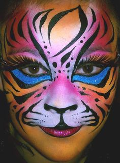 valentines face paint - Google Search