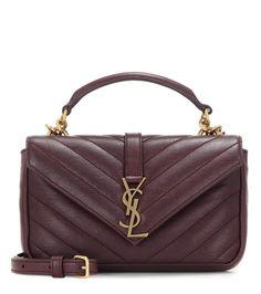 566a0416a3 SAINT LAURENT Collège Chain Wallet Leather Crossbody Bag. #saintlaurent # bags #shoulder bags