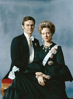 Queen Margrethe II and Prince Consort Henrik of Denmark