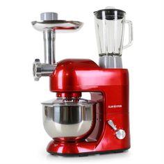 Kuchynský robot  Lucia Rossa 1200W - cervená