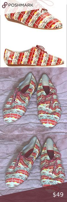 Spotted while shopping on Poshmark: jeffrey campbell Warhol Campbell tomato shoe Campbell Plus Fashion, Womens Fashion, Fashion Tips, Fashion Trends, Loafer Flats, Loafers, Warhol, Jeffrey Campbell, Leather