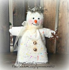 Let It Snow!  CIJ FAAP by Jackie Kernaghan on Etsy