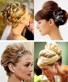 wedding hair - updo top left nice