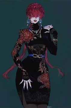 Female Character Design, Character Design Inspiration, Character Concept, Character Art, Fantasy Characters, Female Characters, Anime Characters, Anime Art Girl, Manga Art