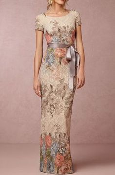 Melinda Dress - very elegant! I don't know where I'd wear it but I would love to wear it!!